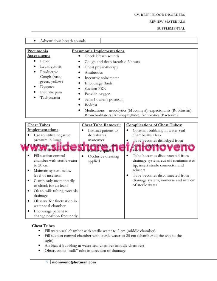 microsoft word oxygenation handouts 2007 nclex