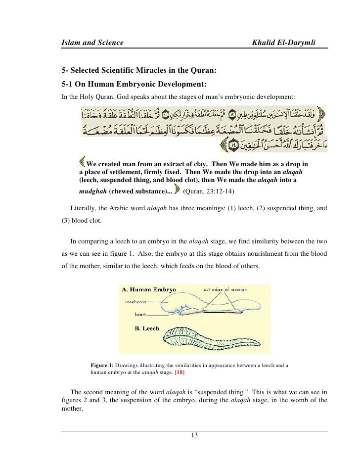 essay on islam and science Science as a belief system 730 words - 3 pages to what extent are science and religion considered to be a variety belief system a belief system is a framework of ideas that are shared by an individual, community or group.