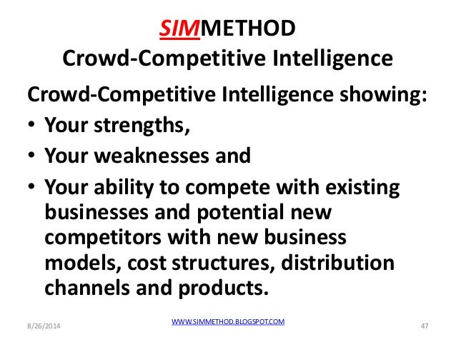 Microsoft 2014, crowd competitive intelligence, clevel