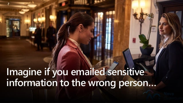 Imagine if you emailed sensitive information to the wrong person…