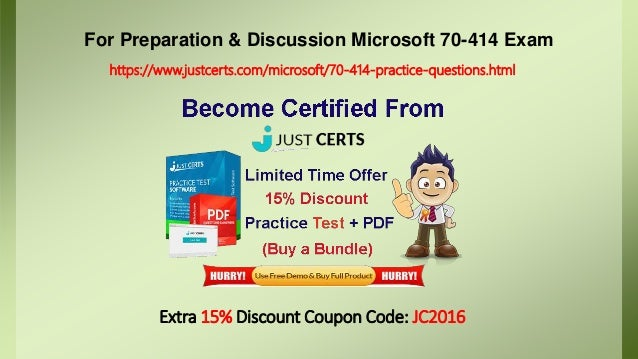 Microsoft 70 414 Exam Preparation Material For Best Results