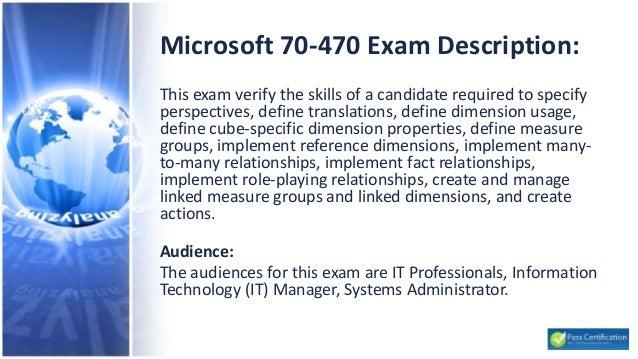 Microsoft 70-470 Exam - Recertification for MCSE Business