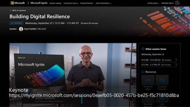 Building Digital Resilience Project Natick Azure Orbital Mixed Reality: Object Anchors Dynamics 365 Remote Assist Surface ...