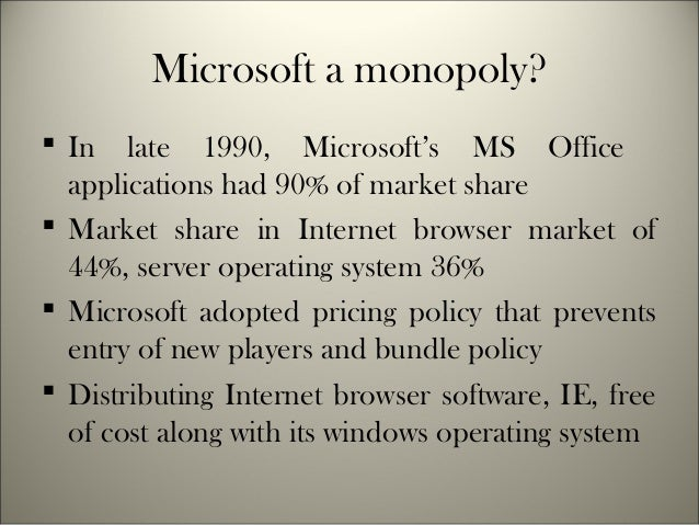 an analysis of the microsofts antitrust problems Microsoft's use of patents finally,  other laws, such as antitrust rules, may impose such requirements, but only under exceptional circumstances.