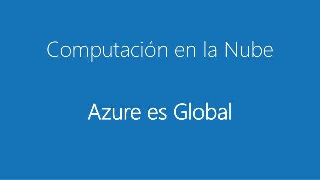 Introducción a Microsoft azure Slide 2