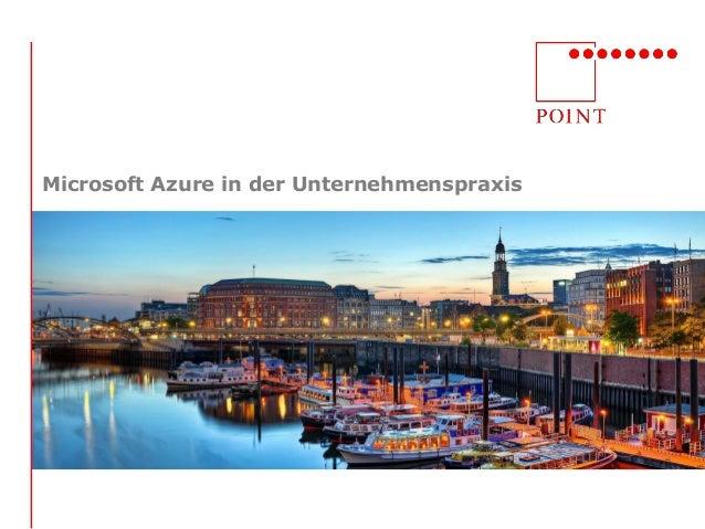 Microsoft Azure in der Unternehmenspraxis
