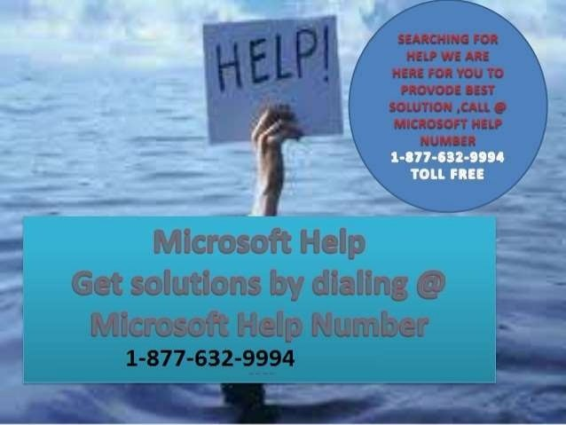 Microsoft Help Number Perfect help and solution here We are here for your help 24*7 Call Toll-Free Number 1-877-632-9994 F...