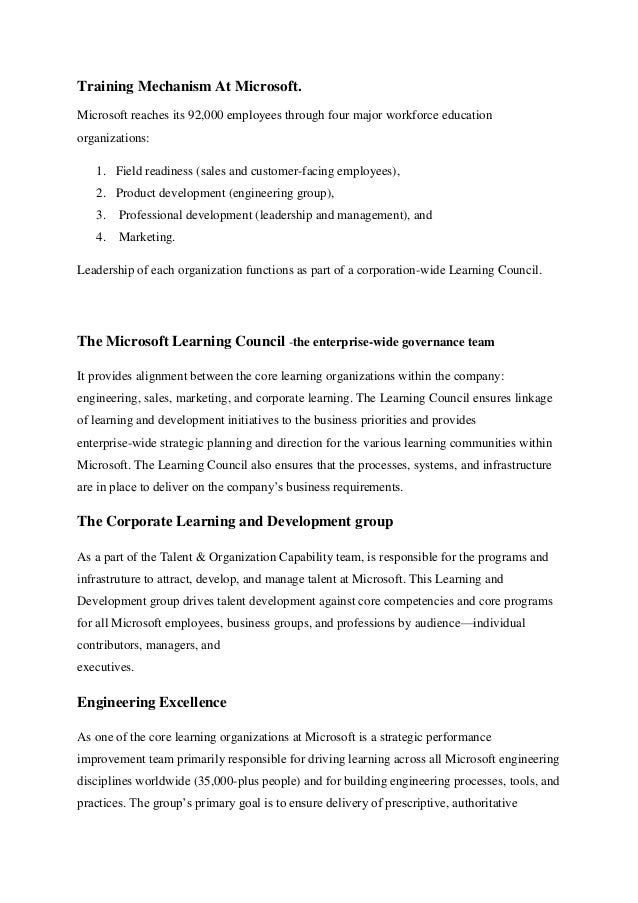 microsoft corporation case analysis Microsoft corporation is a us-based global technology company with headquarters in richmond, washington with office in more than 100 countries around.