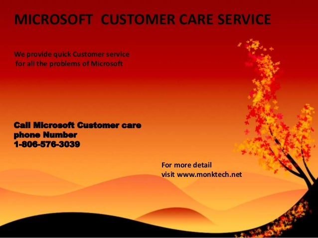 MICROSOFT CUSTOMER CARE SERVICE We provide quick Customer service for all the problems of Microsoft Call Microsoft Custome...
