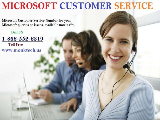 microsoft customer services