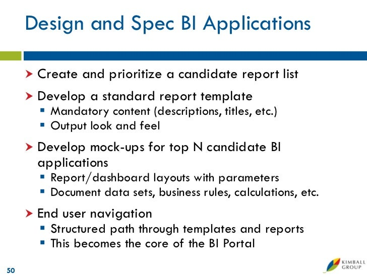 Business intelligence report specification template 6 business analytics reporting requirements template microsoft data warehouse business intelligence lifecycle the kimbal pronofoot35fo Choice Image