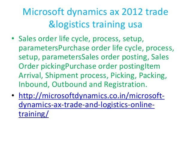 Microsoft Dynamics AX Trade and download - 2shared