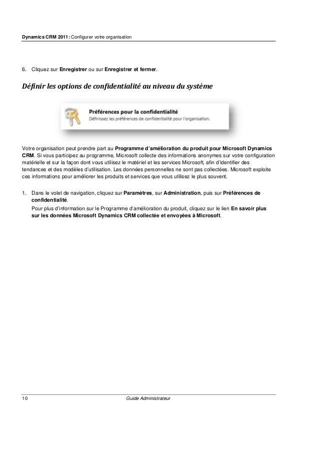 Dynamics CRM 2011: Configurer votre organisation 12 Guide Administrateur Quand installer Microsoft Dynamics CRM E-mail Rou...