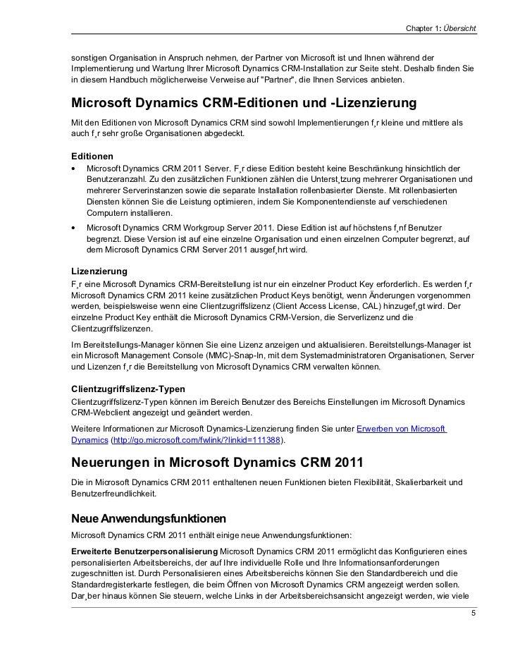 Chapter 1: Übersichtsonstigen Organisation in Anspruch nehmen, der Partner von Microsoft ist und Ihnen während derImplemen...