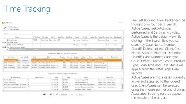 Microsoft Dynamics CRM 2013 Time Billing and Docketing for xRM4Legal