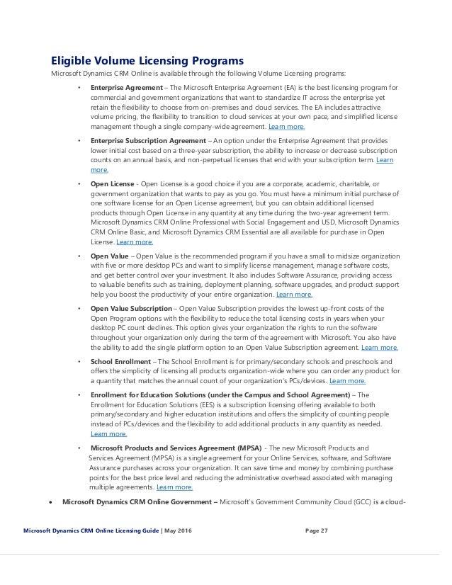 Microsoft Cloud Microsoft Cloud Reseller Agreement