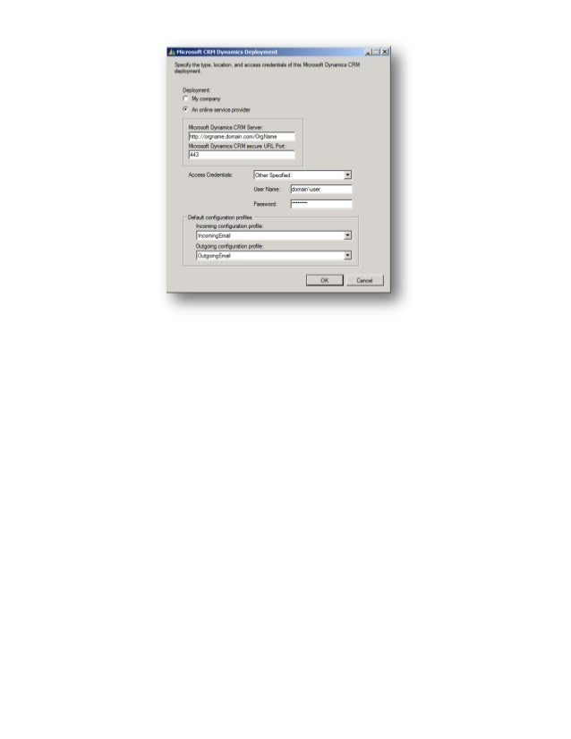 Microsoft dynamics crm4 e mail router configuration scenarios