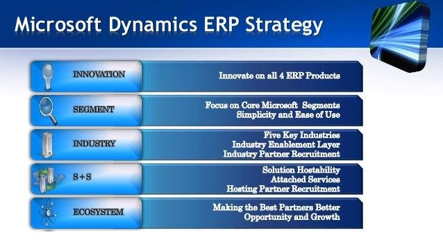 Microsoft Dynamics Erp A Smarter Way To Business Integration