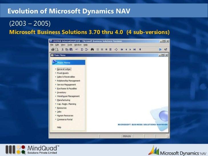 Microsoft dynamics navision 2009 r2