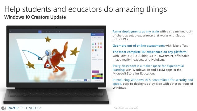 Microsoft Education - Empowering Students Today to Create the World o…