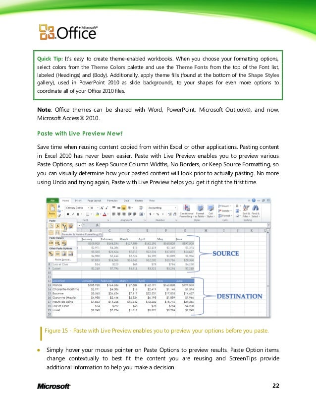 microsoft excel 2010 product guide final