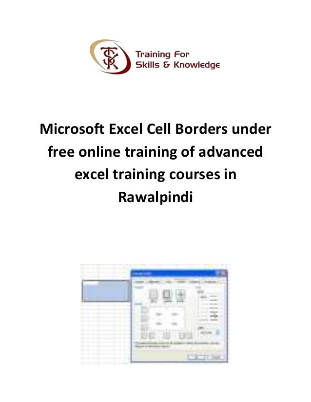 excel lessons free online
