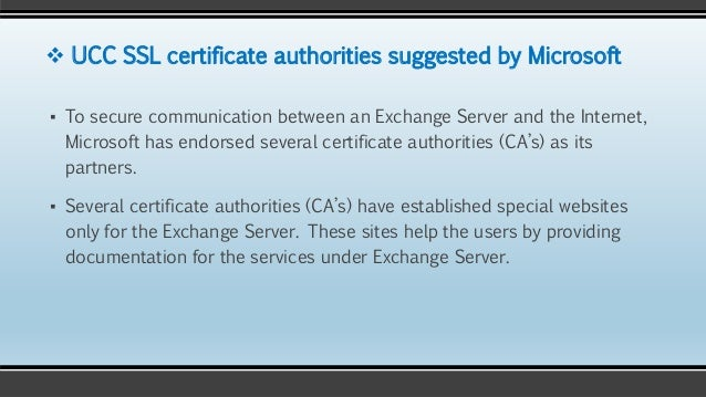 Microsoft Exchange Server & SSL Certificates: Everything you need to …