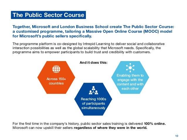 Microsoft and London Business School