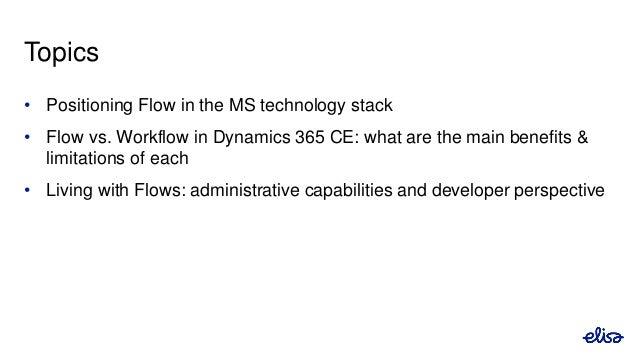 Microsoft Flow and Dynamics 365 - Jukka Niiranen at CRM Saturday Oslo, 2017-08-26 Slide 3