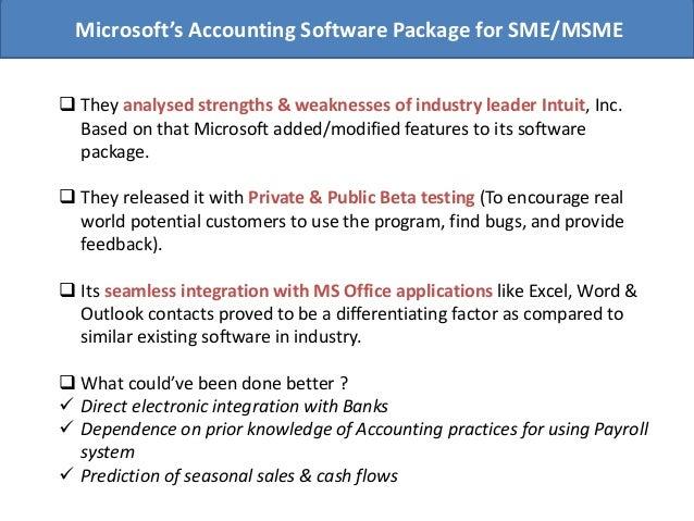 microsoft accounting