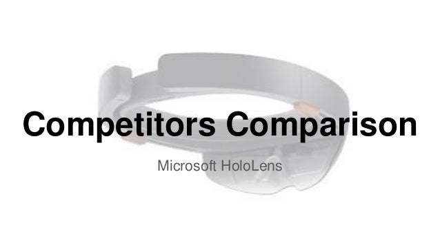 microsoft hololens competitors