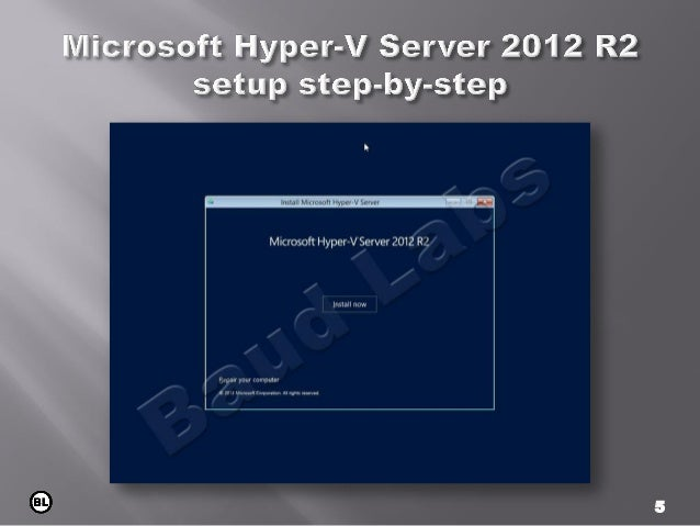 Introduction to Hyper-V Training Course - Microsoft Virtual Academy