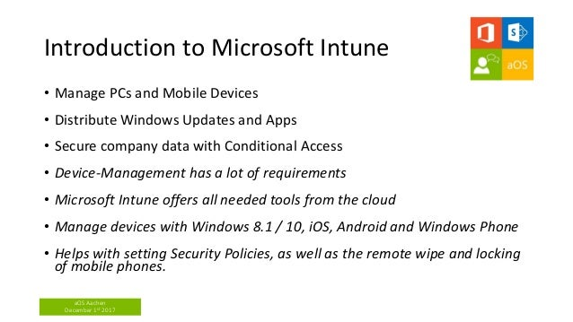 Microsoft intune with managed apps and security device
