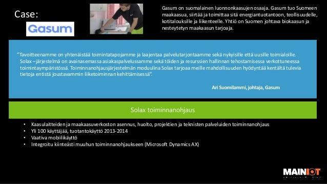 Moderni mobiili kenttähuolto | CGI:n Microsoft Dynamics