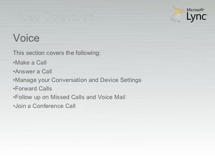 Microsoft lync 2010_voice_and_video_training_rtm Slide 3