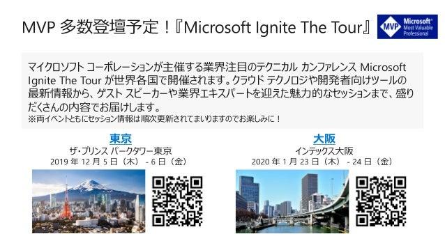 【Microsoft MVP アワード プログラムに関するお問い合わせ】 jpmvpra@microsoft.com (ご返信まで数営業日頂戴する場合がございます)