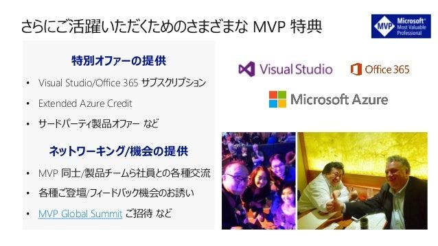 Microsoft MVP アワード プログラム x DevRel