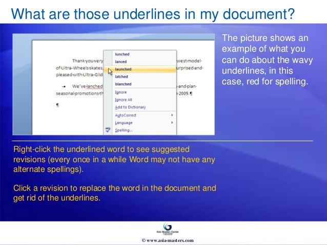 Microsoft® Office Word 2007 Skills & Compentencies Training