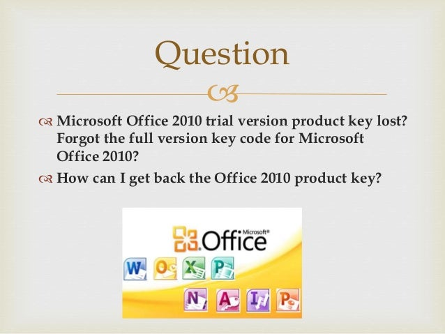 office 2010 key code
