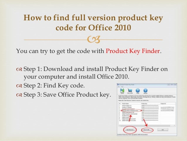 install office 2010 without key