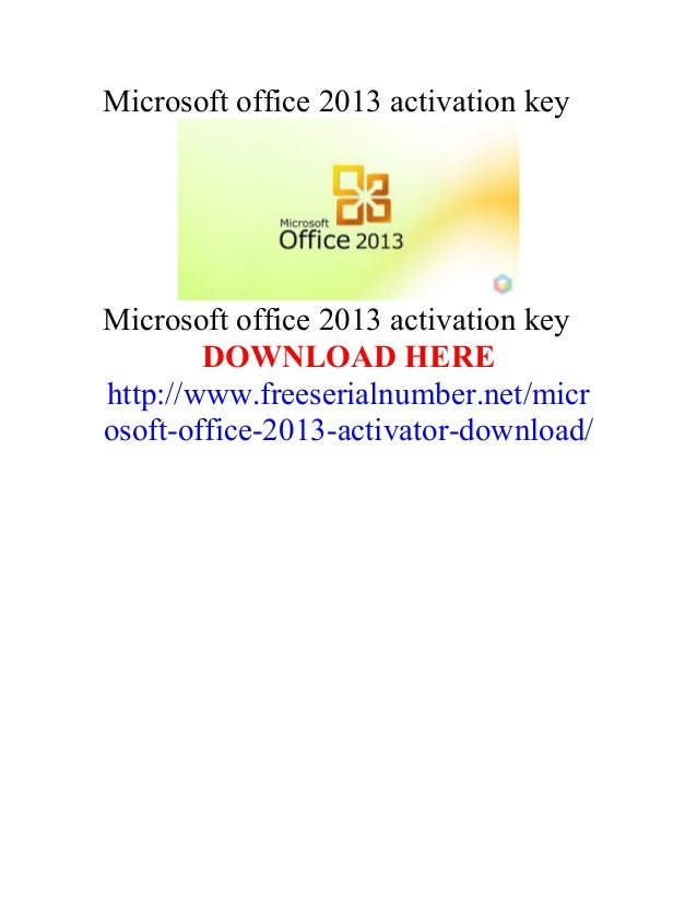 download microsoft office 2013 activator for windows 8.1