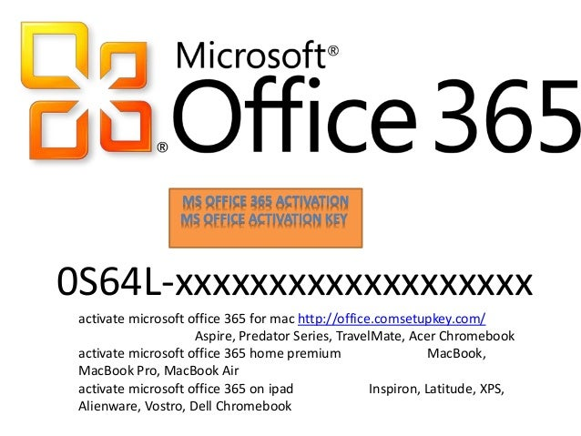 ms office 365 home premium activator