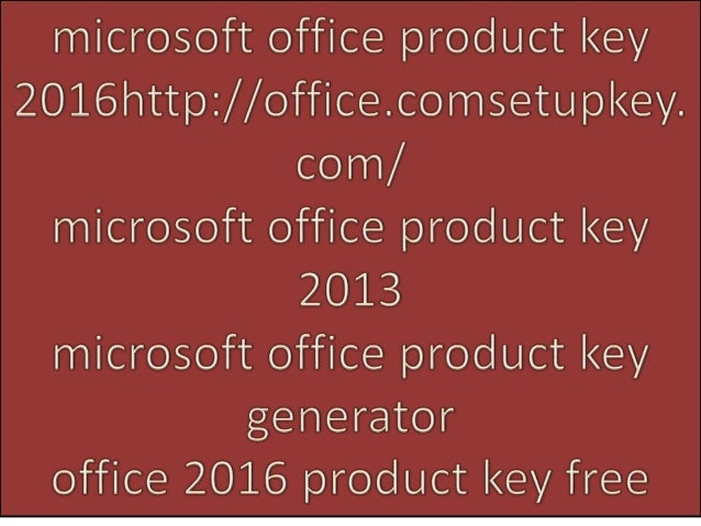 office 13 product key free