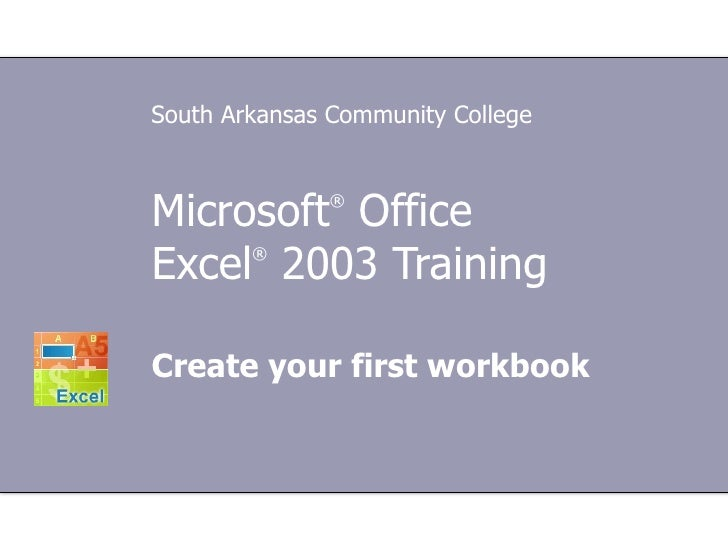 Microsoft® office excel a