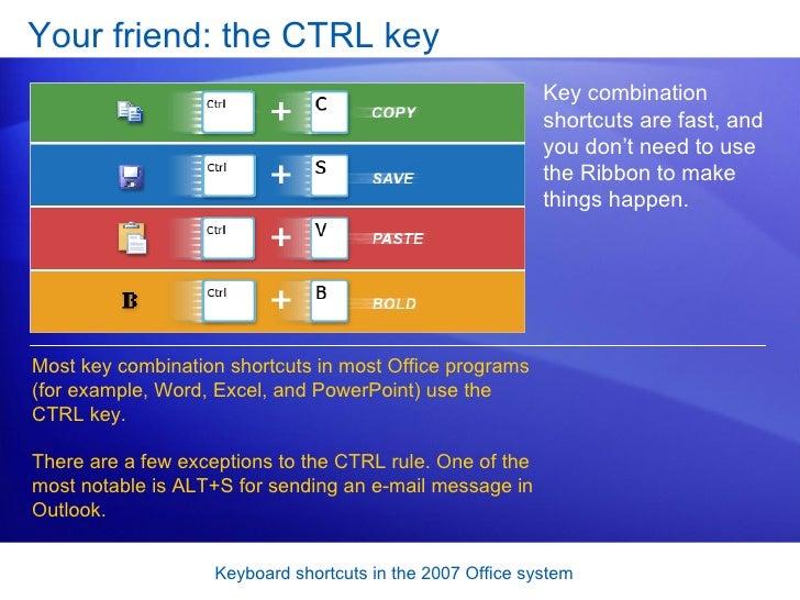 microsoft word 2007 key