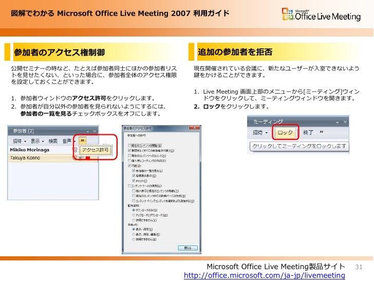 live meeting 2007 meet now