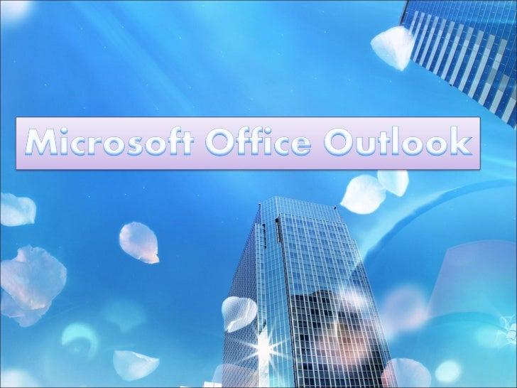 Microsoft office outlook Slide 1
