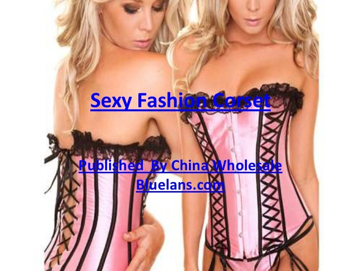 Sexy Fashion Corset<br />Published  By China Wholesale Bluelans.com<br />