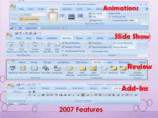 features of ms powerpoint