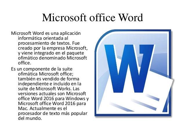 descargar microsoft office 2016 para mac full